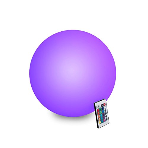 INNOKA 19.68-inch Waterproof Rechargeable Floating Glow Ball review